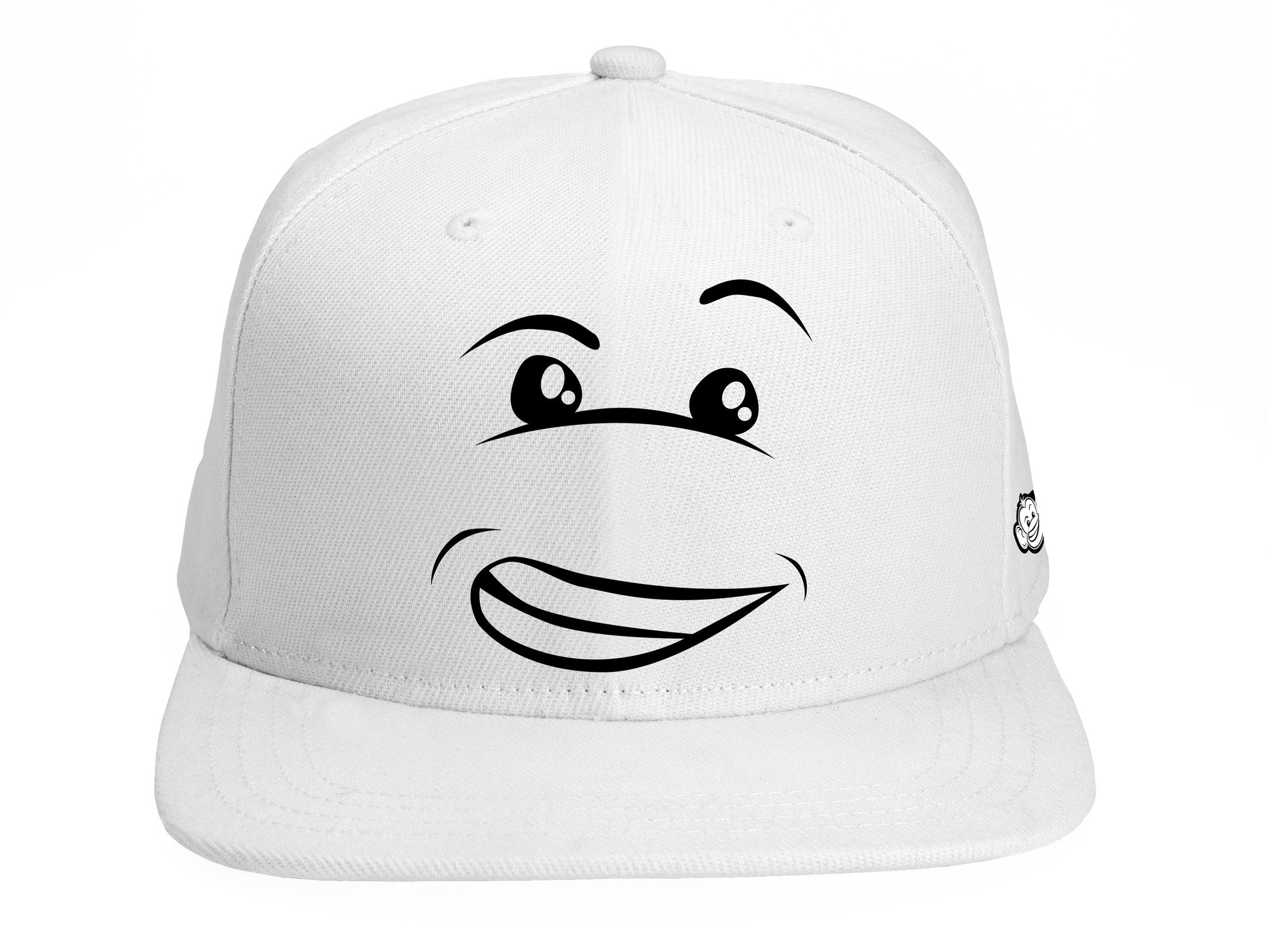 "Shine Happy Snapback ""WHITE"""