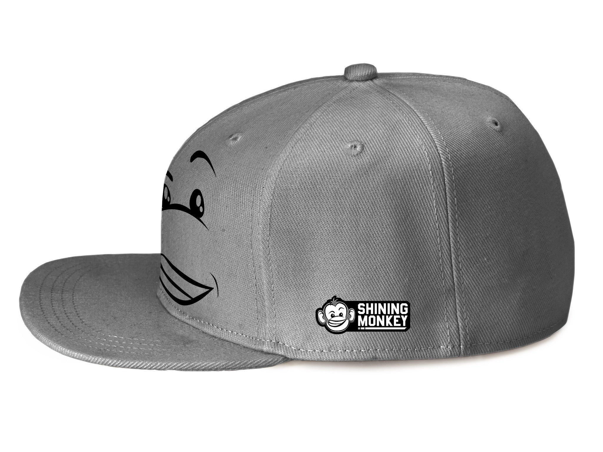 "Shine Happy ""Grey"" SnapBack"