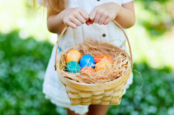 nontoxic kids easter basket