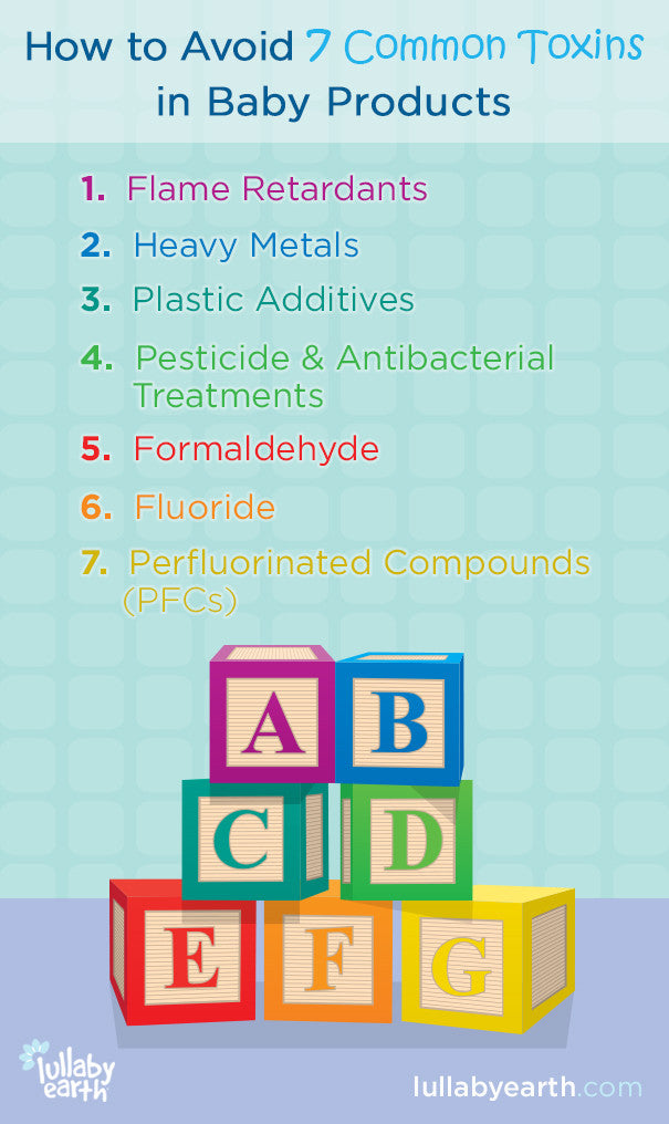 common toxins in baby products