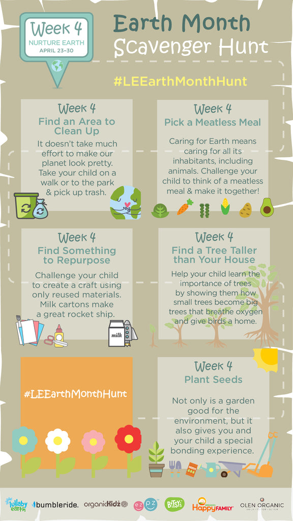 Earth Month Scavenger Hunt