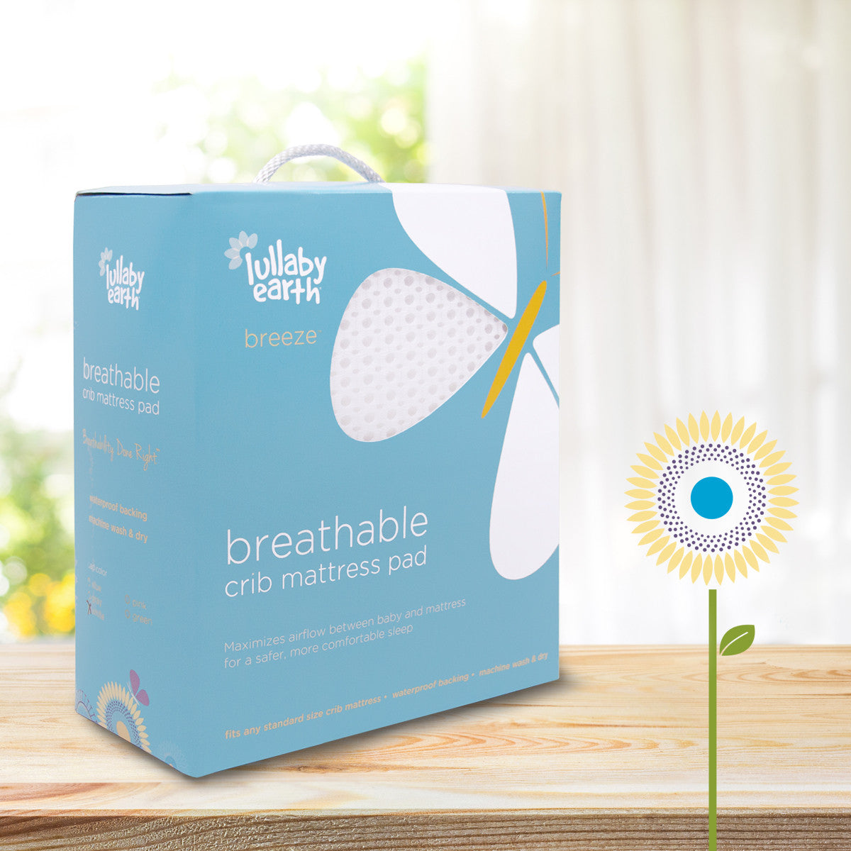 Lullaby Earth Safe Healthy And Breathable Baby Crib
