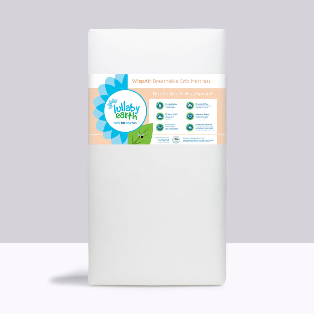Lullaby Earth Wispair Breathable Crib Mattress