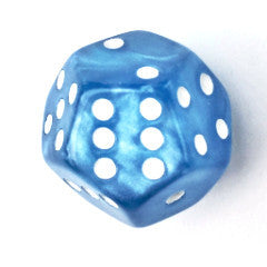 Marble Light Blue with White Pips (Limited Edition)
