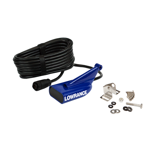 Lowrance HDI Skimmer 15' Med/High CHIRP/DownScan, 9 pin, Lowrance Blue