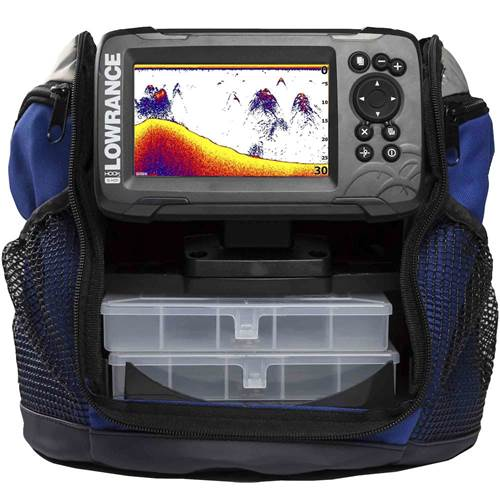 "Lowrance Hook2 5"" Ice Machine"