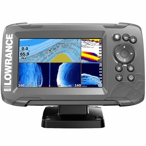 Lowrance Hook² 5 with TripleShot Transducer and US / Canada Nav+ Maps