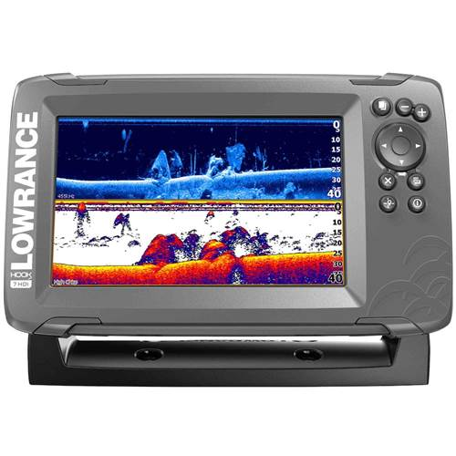 Lowrance Hook² 7 with SplitShot Transducer and US / Canada Nav+ Maps
