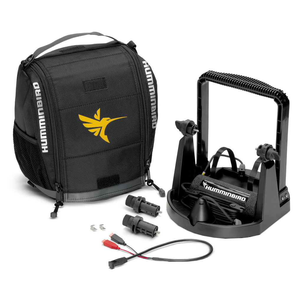 Humminbird Portable Ice Kit w/ CHIRP Ice Transducer for HELIX 5/7