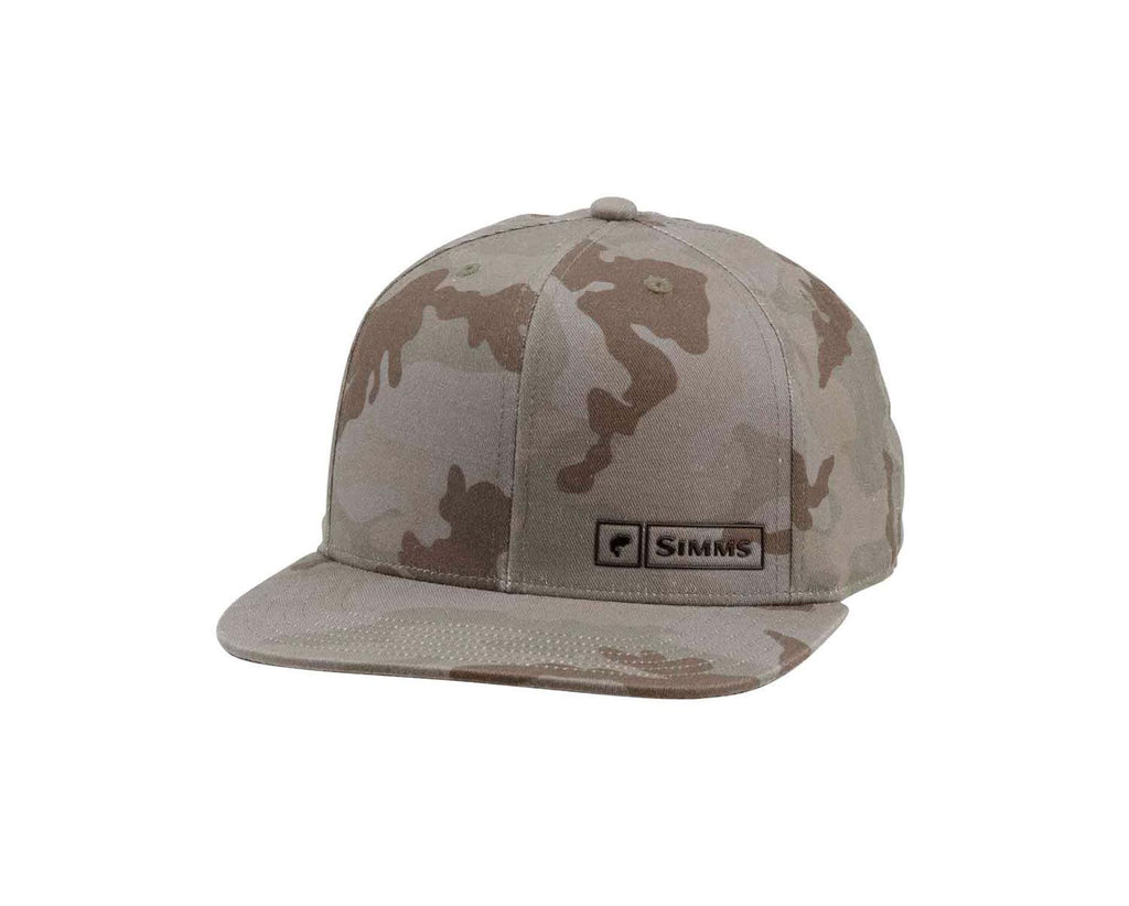 Simms Bass Logo Lock Up Cap