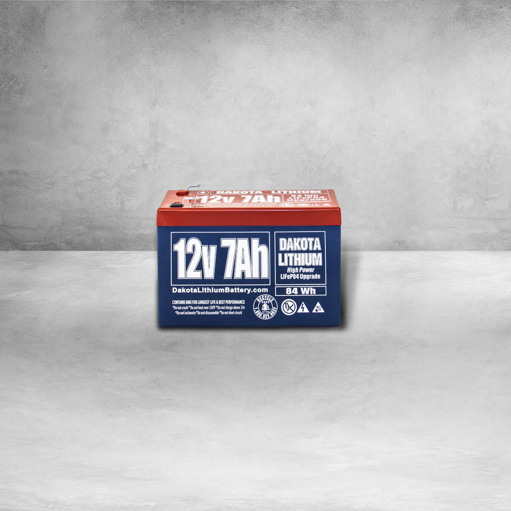 Dakota Lithium 12V LiFePO4 Battery - 7Ah