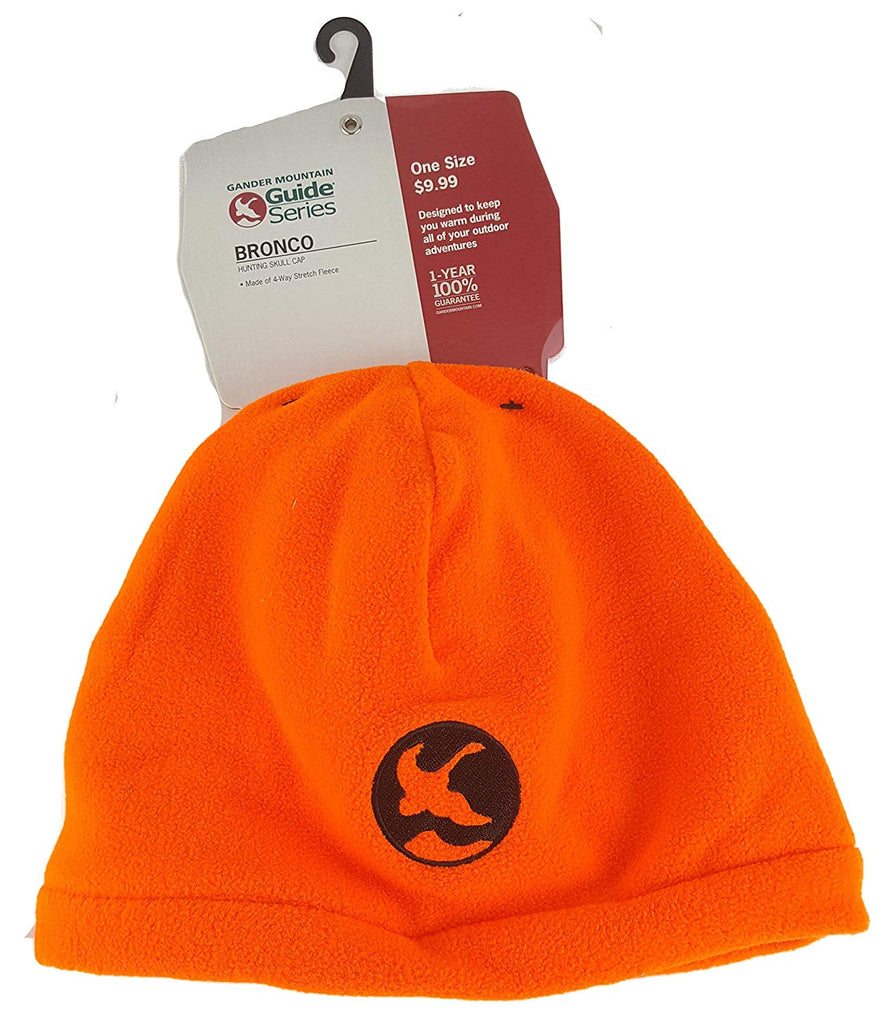 Gander Mountain Bronco Blaze Orange Winter Hat
