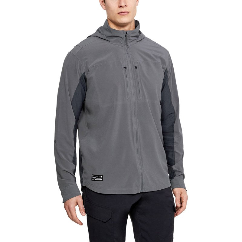 Under Armour Mens Backwater Hybird FZ Long Sleeve