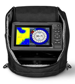 Garmin ECHOMAP™ UHD 63cv Ice Fishing Bundle - With GT8HW-IF Transducer