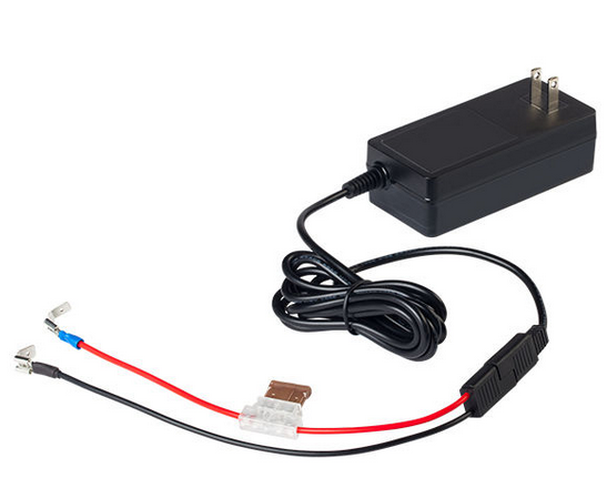 MarCum 12v3amp LiFePO4 Charger With Wiring Harness