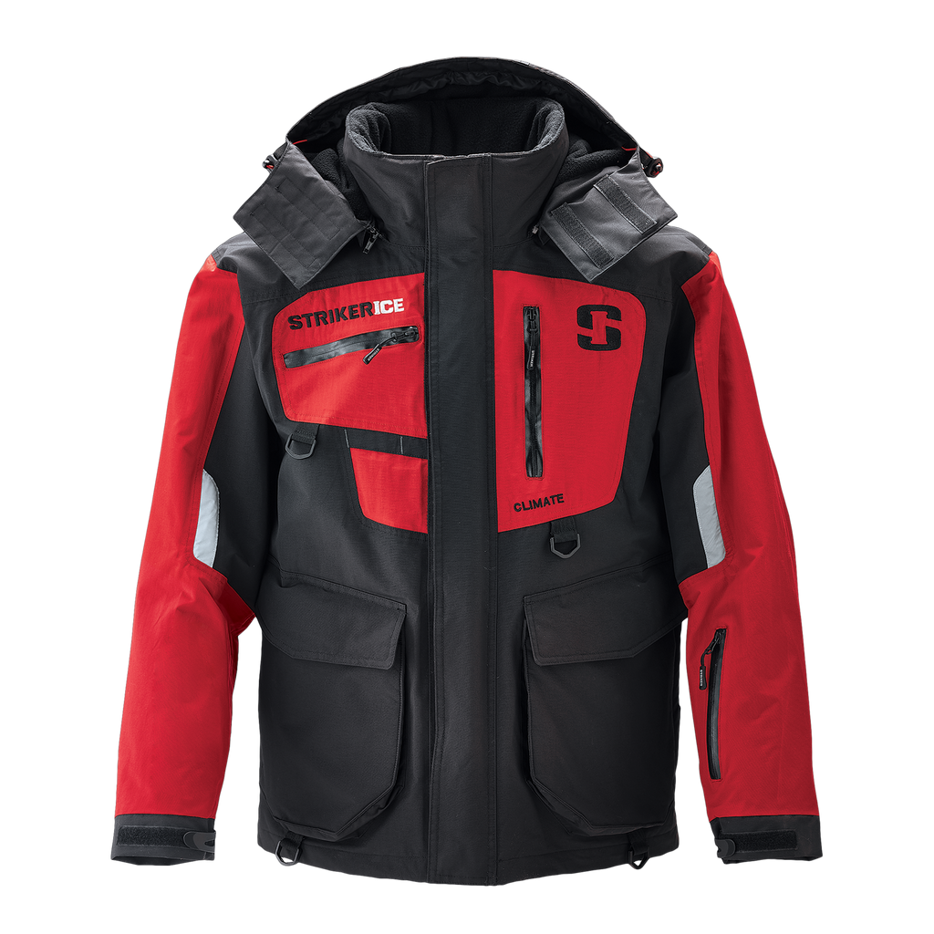 Striker Ice Climate Jacket - Red/Black - Front
