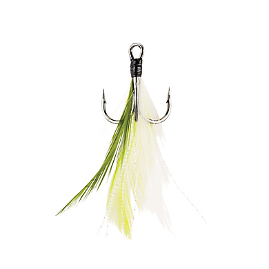 Berkley Fusion19 Feathered Treble Hooks