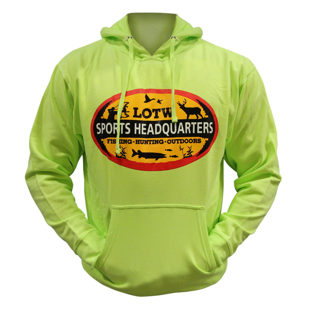 LOTW Sports Headquarters Adult Unisex Hoodie - Yellow