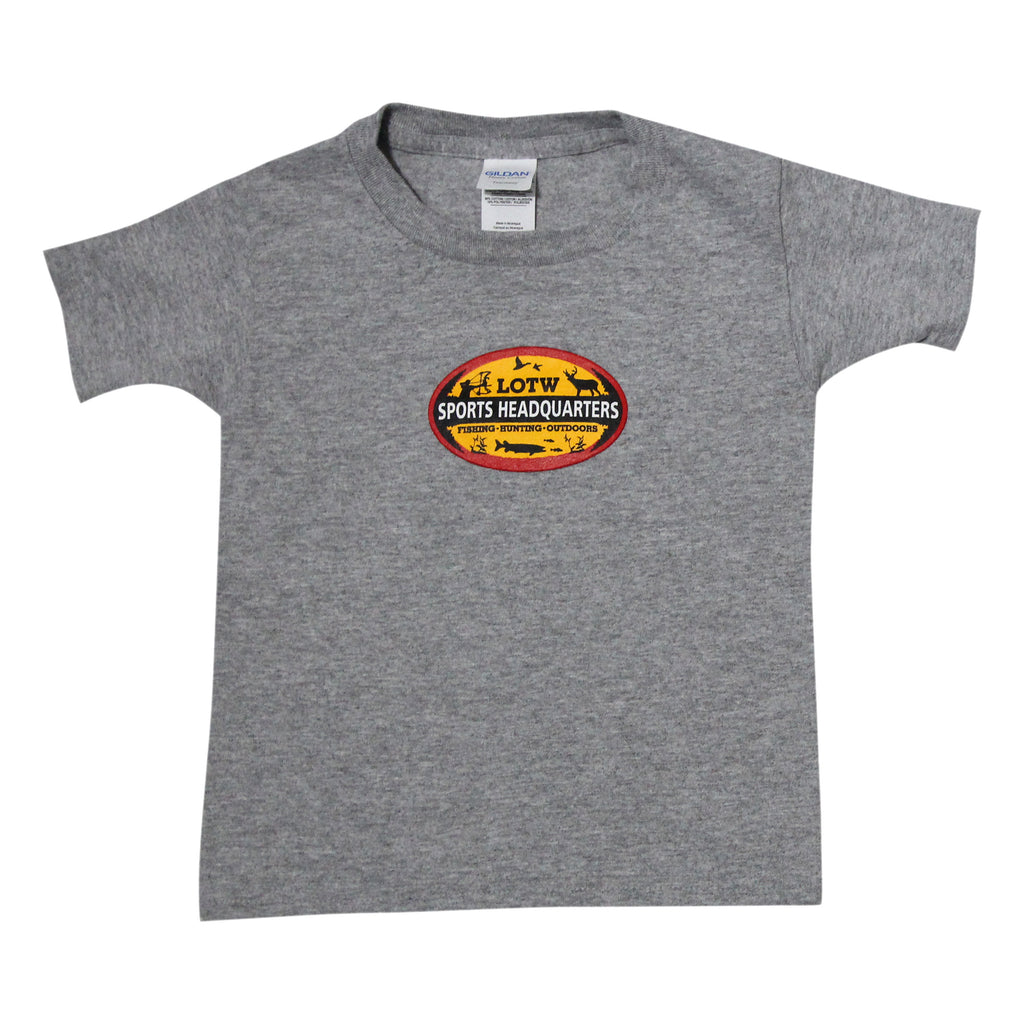 LOTW Sports Headquarters Toddler T-Shirt - Grey