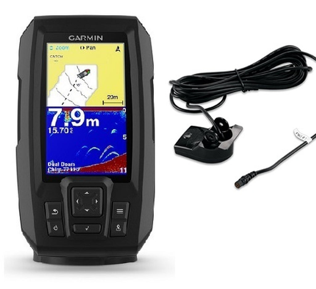Garmin Striker Plus 4CV + Transducer