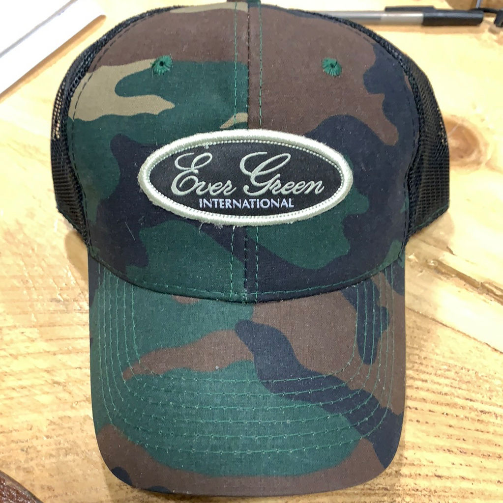 Evergreen International Camo SnapBack Hat