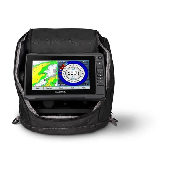 Garmin ECHOMAP UHD 73CV Ice Fishing Bundle