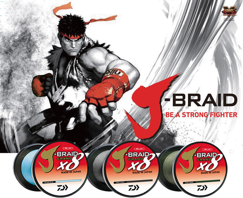 Daiwa J-Braid x8 Grand Braided Line