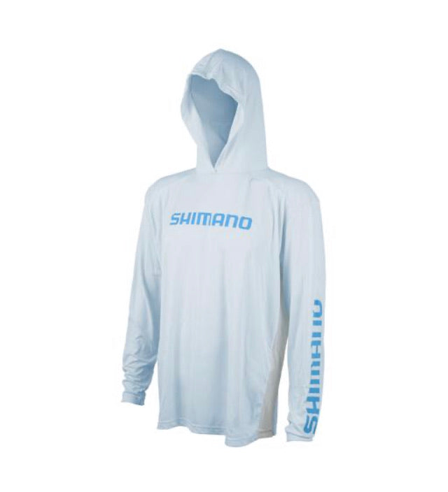 Shimano Long Sleeve Tech Tee Hooded