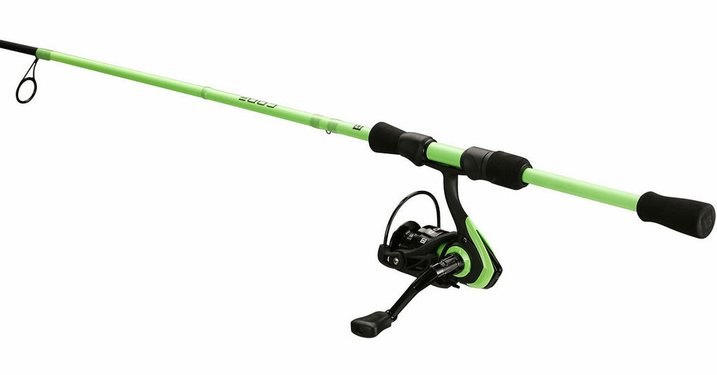13 Fishing Code Neon Combo 6' 7 Medium Light 2000 Reel