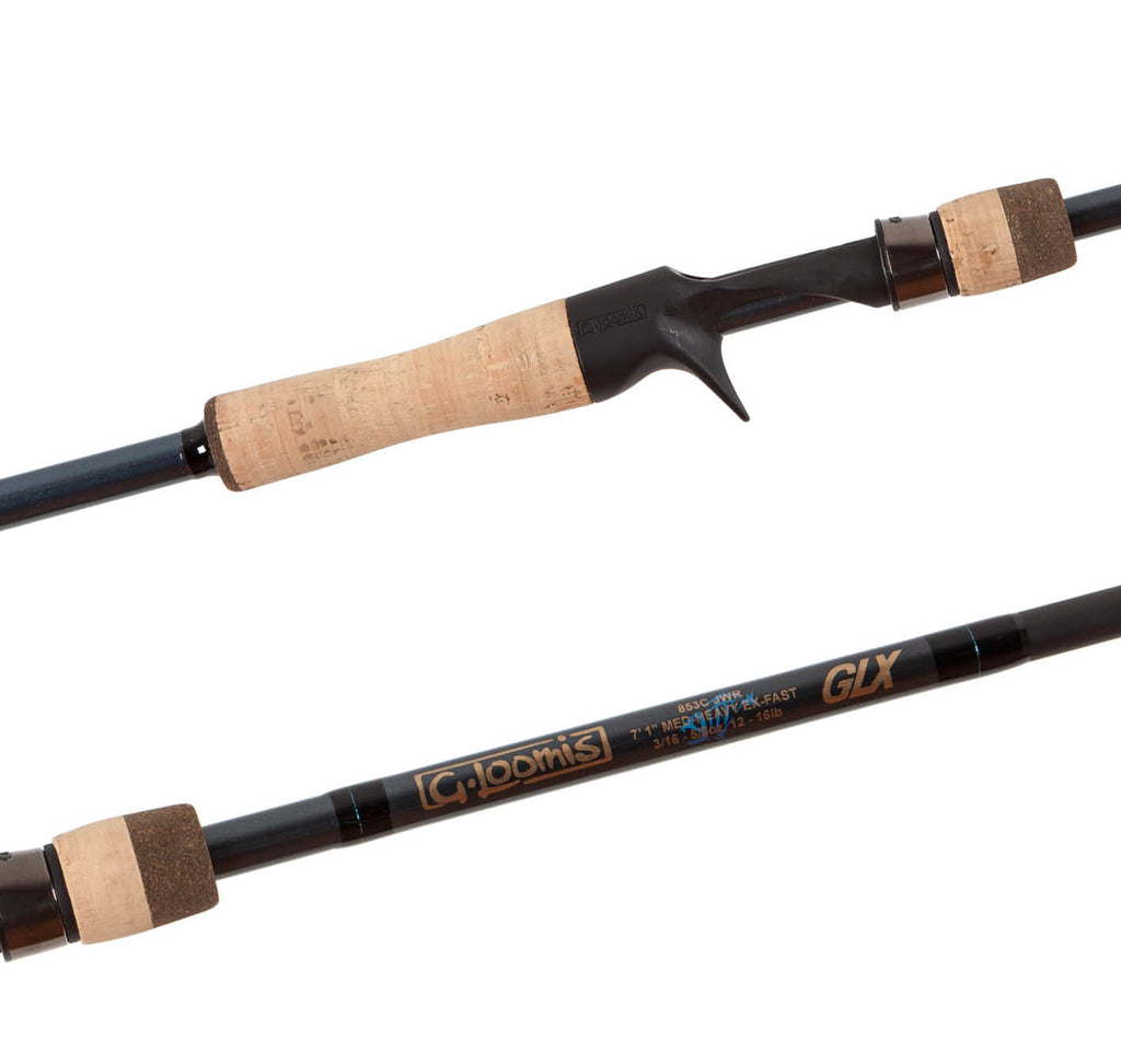 G. Loomis GLX Casting Rods