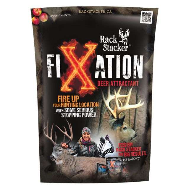 Rack Stacker Fixation Deer Attractant