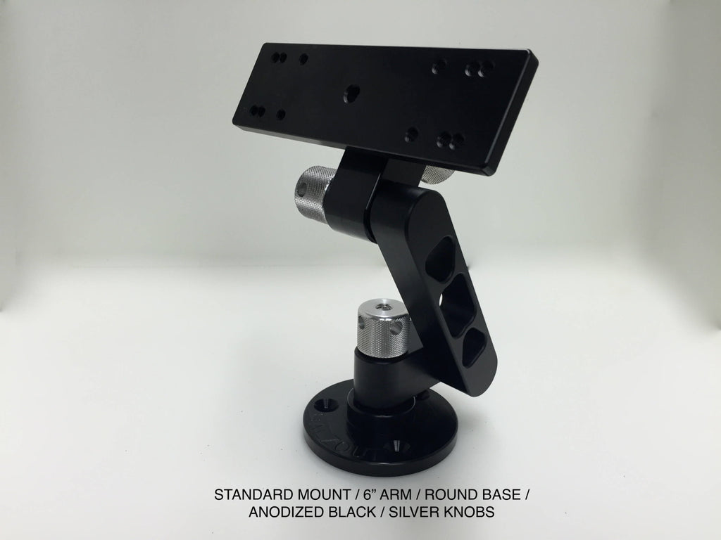 Balzout Fish Finder Mount Black