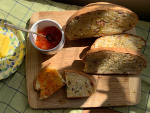 Bacon, Cheddar, Chive, Irish Soda Bread