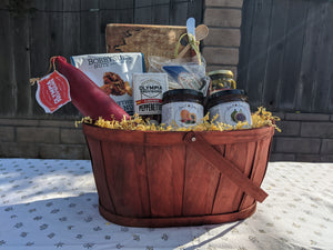 """Just Add Cheese"" Gift Basket"