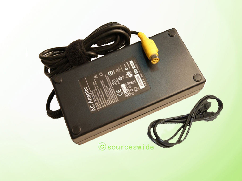 "AC Adapter Adaptor For IBM 4838-940 4838-94E Series 15"" AnyPlace Kiosk POS Power Supply Cord Charger"