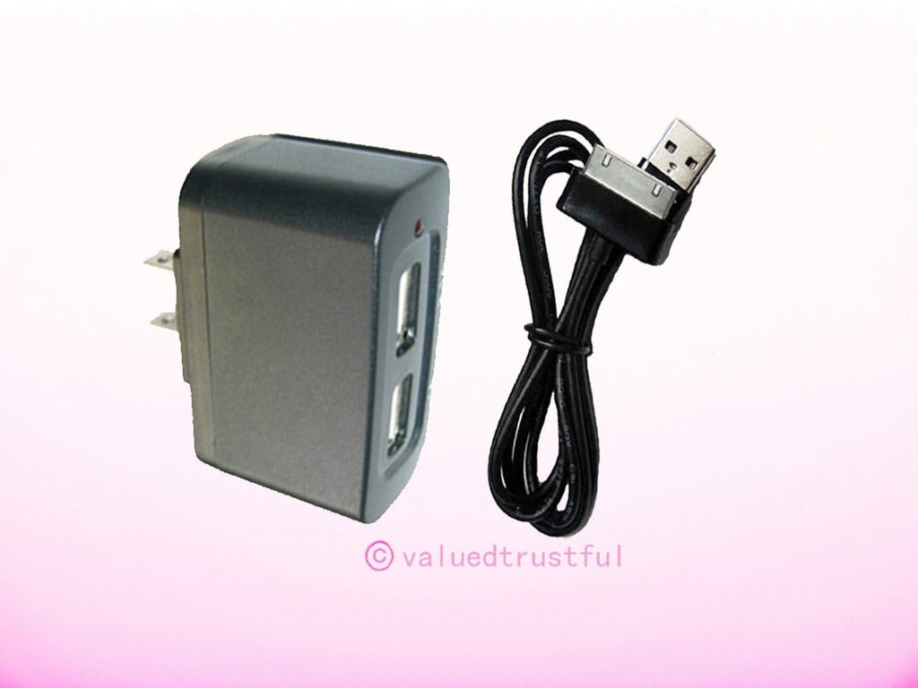 AC Adapter Adaptor For Samsung Galaxy Tab 2 GT-P5113ZWYXAR Note Android WIFI Tablet PC Charger Power Cord