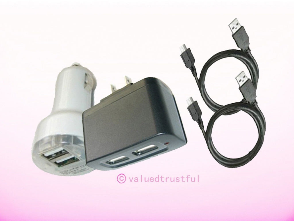 AC Adapter Adaptor+Car Charger For Acer Iconia Tab B1-710-83171G01nw NT.L1VAA.001  Android Tablet PC