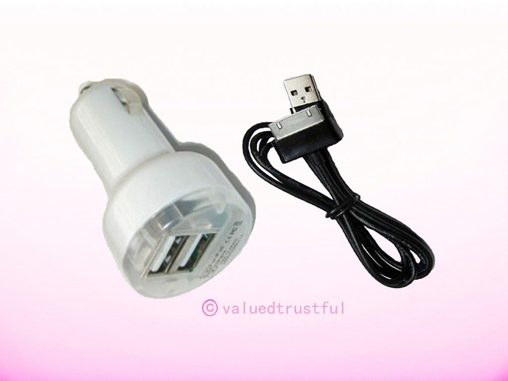 "Car Adapter Adaptor For 7 "" Samsung CE 0168 WIFI Cell Phone Tablet PC Charger Power Cord"