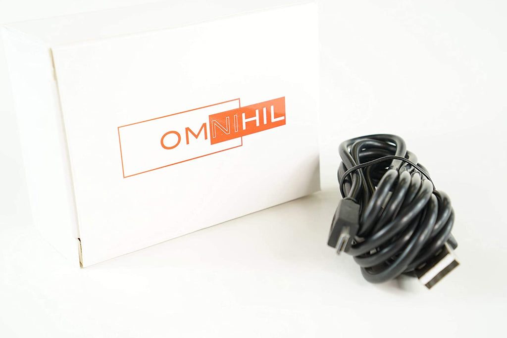 OMNIHIL 5 Feet Long High Speed USB 2.0 Cable Compatible with Retevis RT16 Walkie-Talkies