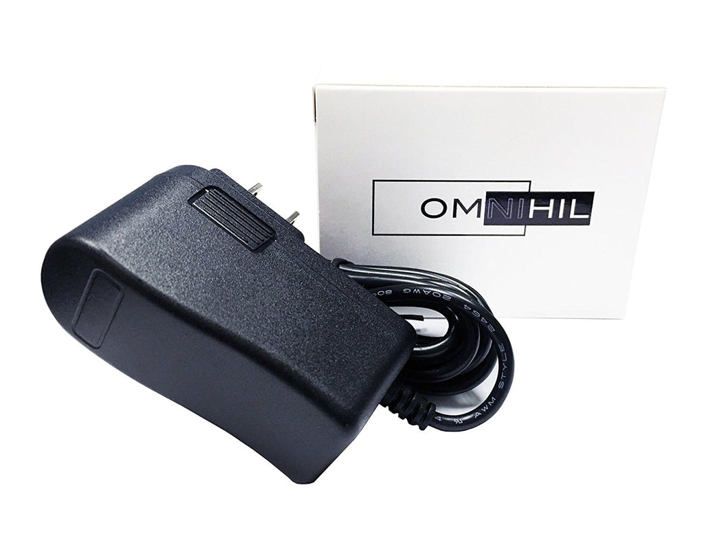 OMNIHIL Replacement (6.5FT) USB Adapter Charger for PLESON Fast Wireless Charger 2 Coils QI Fast Wireless Charging Pad Stand PLS-SC500 Power Supply