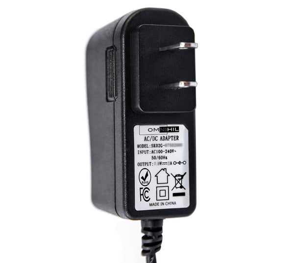 OMNIHIL AC/DC Adapter/Adaptor for Canon LEGRIA, MV, VIXIA, and XA Power Supply Home Wall Charger