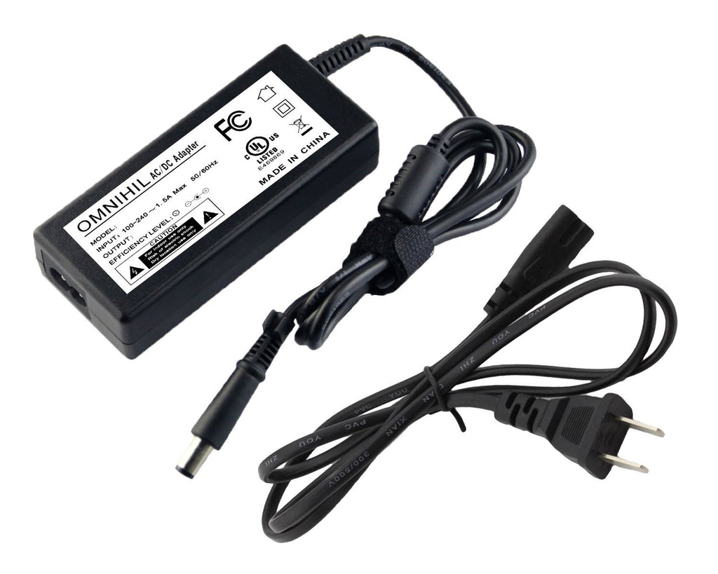 "OMNIHIL (8 Foot) AC 110V~240V UL Listed Adapter Transformer for HP XP600AA#ABA 2711x 27"" LED LCD"