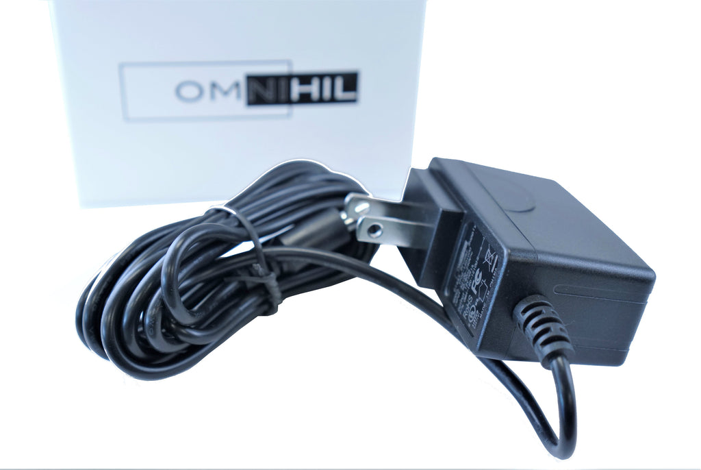 [UL Listed] OMNIHIL 8 Feet Long AC/DC Adapter Compatible with Zoom Power Adapter Model:  AD-14 A/D