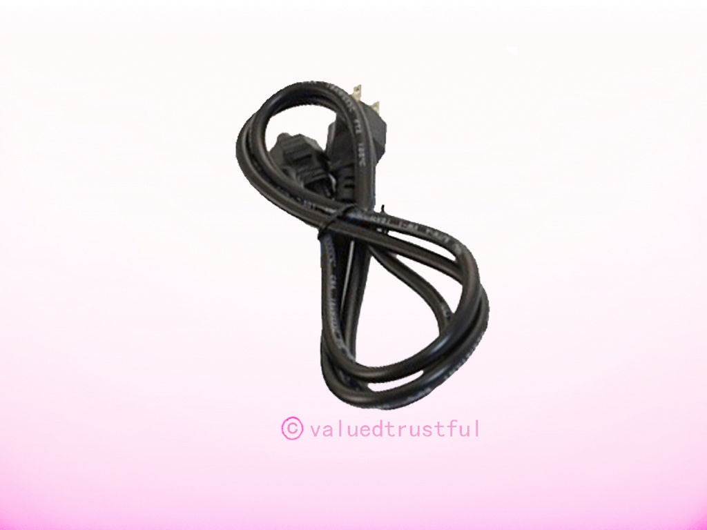 AC Power Cord Outlet Socket Cable Plug For Dell E2414H P2012H P2314H LED LCD Monitor