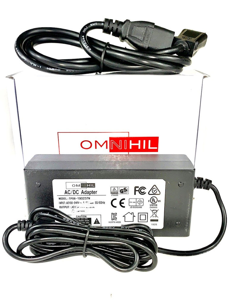 [UL Listed] OMNIHIL 15 Feet Long AC Power Cord Compatible with Epson VS355