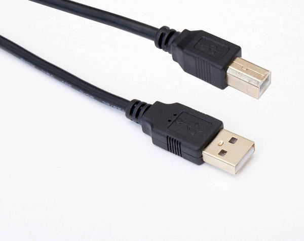 OMNIHIL Replacement (5ft) 2.0 High Speed USB Cable for Numark TT250USB Direct Drive Turntable