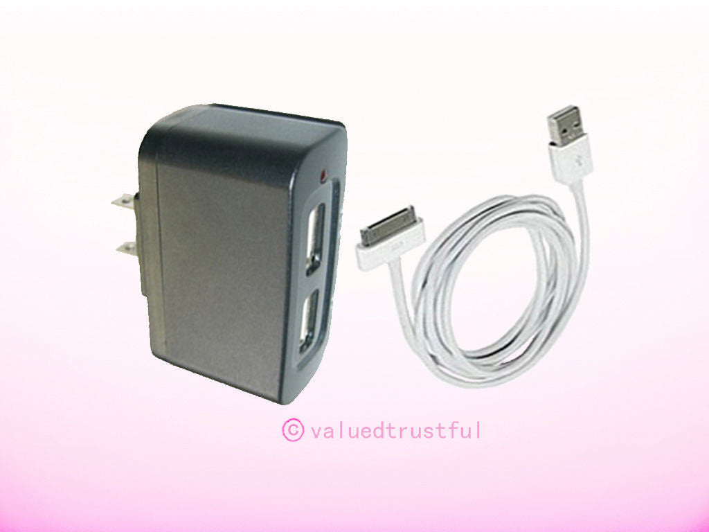 AC Adapter Adaptor For Apple iPod Nano 1st 2nd 3rd 4th 5th Gen Power Supply Cord Charger