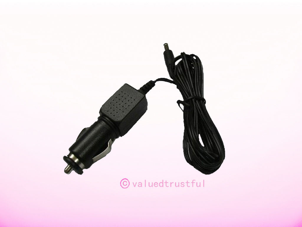 Car Adapter Adaptor For Sylvania Portable DVD Player sdvd7004 Series Charger Power Supply