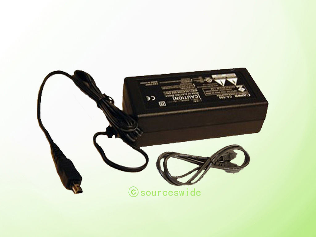 AC Adapter Adaptor Power Supply 4 Canon VIXIA HF R10 Camcorder