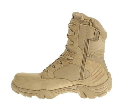 Bates GX-8 Desert Composite Toe Side Zip Boot